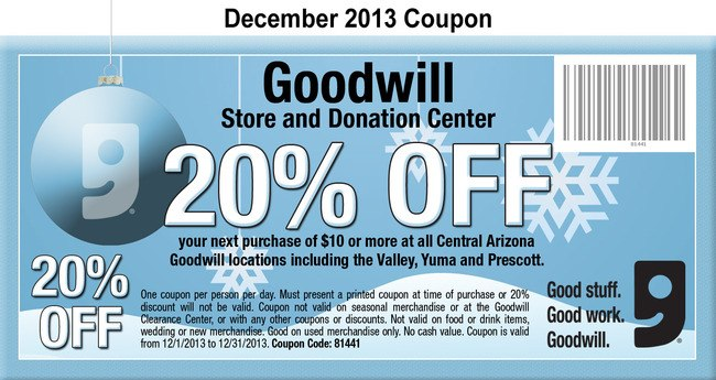 Goodwill sale dates
