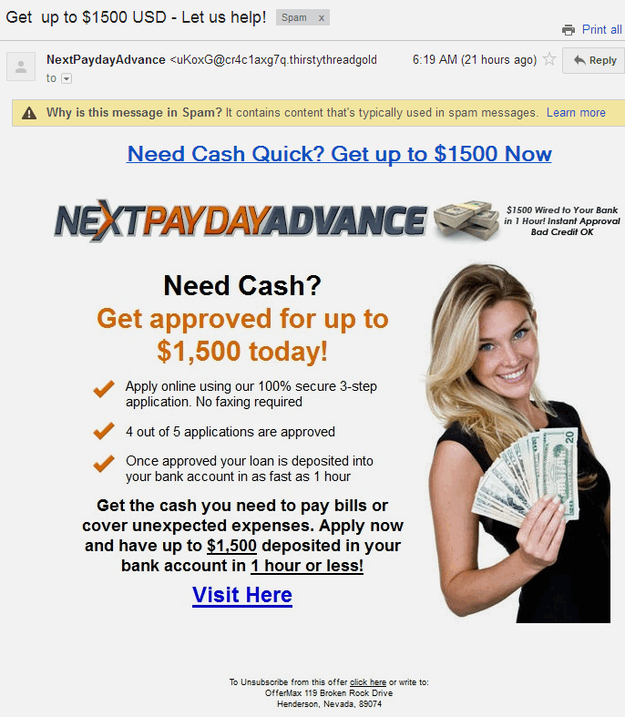 Cash advance interest 19.99 photo 2